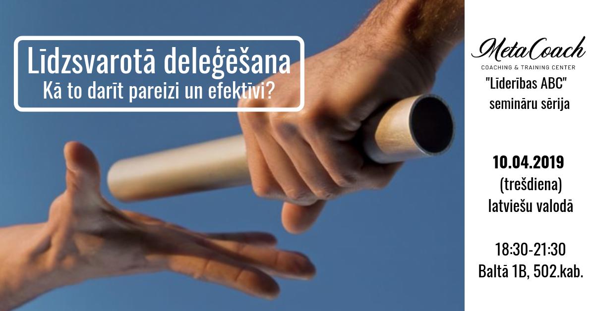 Līdzsvarotā deleģēšana - Kā to darīt pareizi un efektīvi?