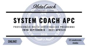 Online koučinga apmācības 2020-2021