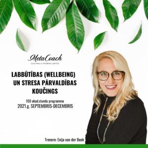 Labbūtības (wellbeing) un stresa pārvaldības koučings