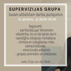 Supervīzijas grupa